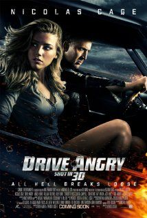 """Husband: """"I feel like I'm watching an episode of True Blood."""" Me: """"Would you watch True Blood if Nic Cage were in it?"""" Husband: """"YES!"""" [Husband does not like True Blood] 20. Drive Angry #fiftyfiftyme"""