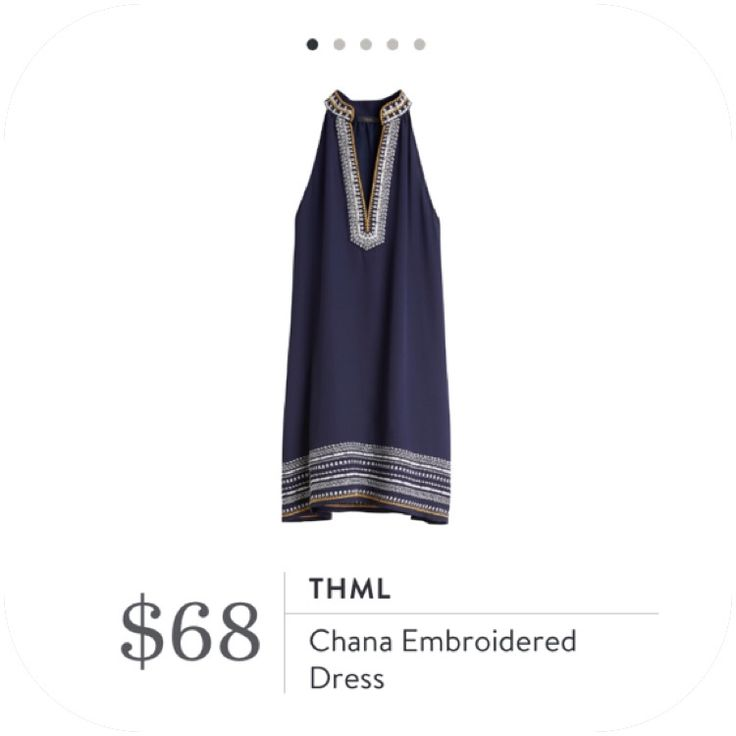 **** LOVE, love, love this dress so much!  Navy with yellow and white embroidery.  Such a flattering cute and fit.  Could be worn to church with a cute cardi over top.  Stitch Fix Fall, Stitch Fix Spring 2016 2017. Stitch Fix Fall Spring fashion. #StitchFix #Affiliate #StitchFixInfluencer