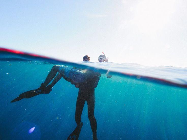 Always dive with a buddy :)  madagascarvolunteer #MRCI