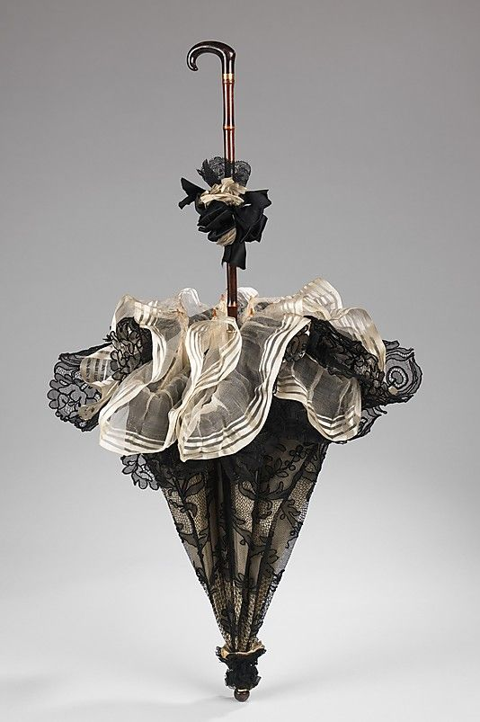 Parasol Made By Dupuy - French   c.1895-1900  -  The Metropolitan Museum Of Art