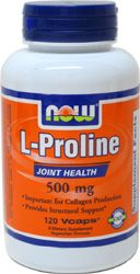 L-Proline Joint Support by NOW Foods