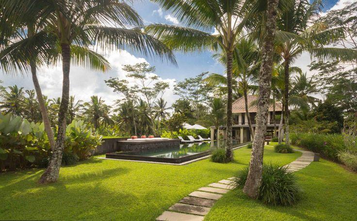 Villa Amala | 6 bedrooms | Ubud, Bali #garden #swimmingpool #ricefield view #bali #holiday #party #venue