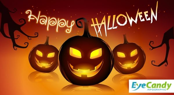 Have fun with Halloween. #Design #InfographicDesign #DataVisualization #InfographicVideo