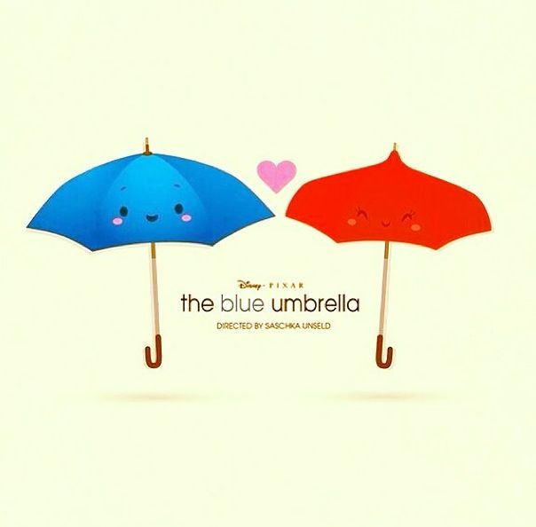 The Blue Umbrella :) <3 inference