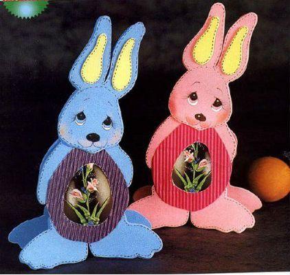 Manualidades de conejos para pascuas   Diseño imágenes