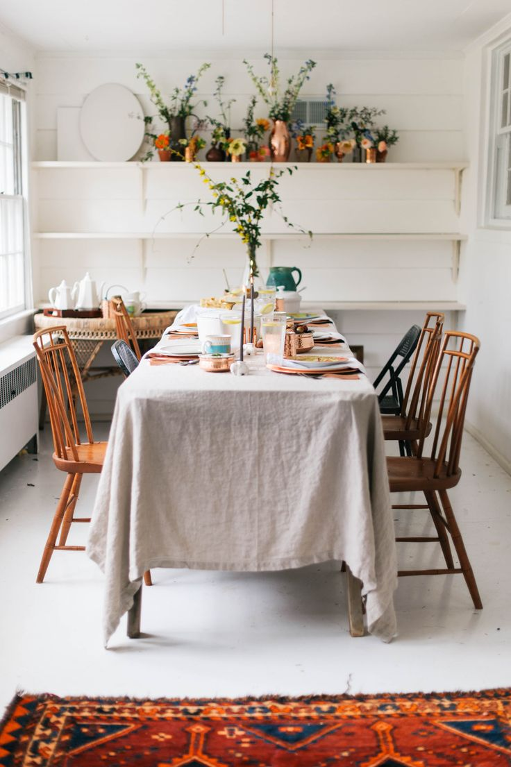 best 25 dining table cloth ideas only on pinterest dinning room a daily something an india inspired feast with williamssonoma and a recipe for chickpea curryrustic dining roomsdining tableslinen