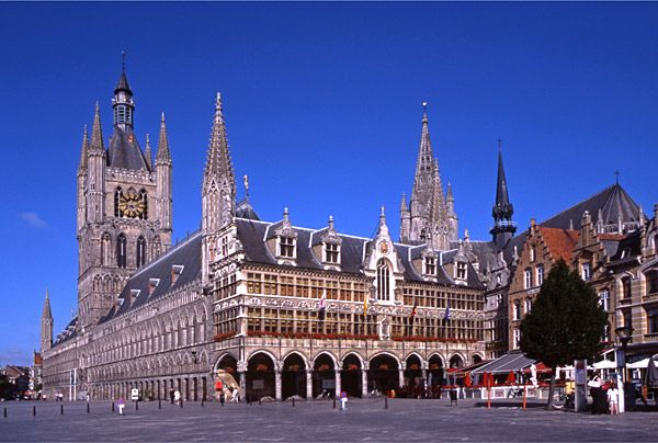Belgium - Ypres The site of the Blacksmithing event in September 2016