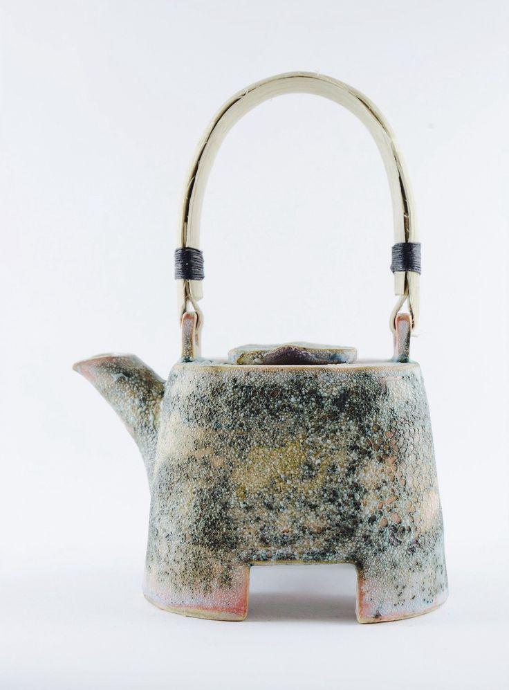 Helle Bovbjerg Teapot for the exhibition the Craft Factor, Designer Zoo in Copenhagen 2014