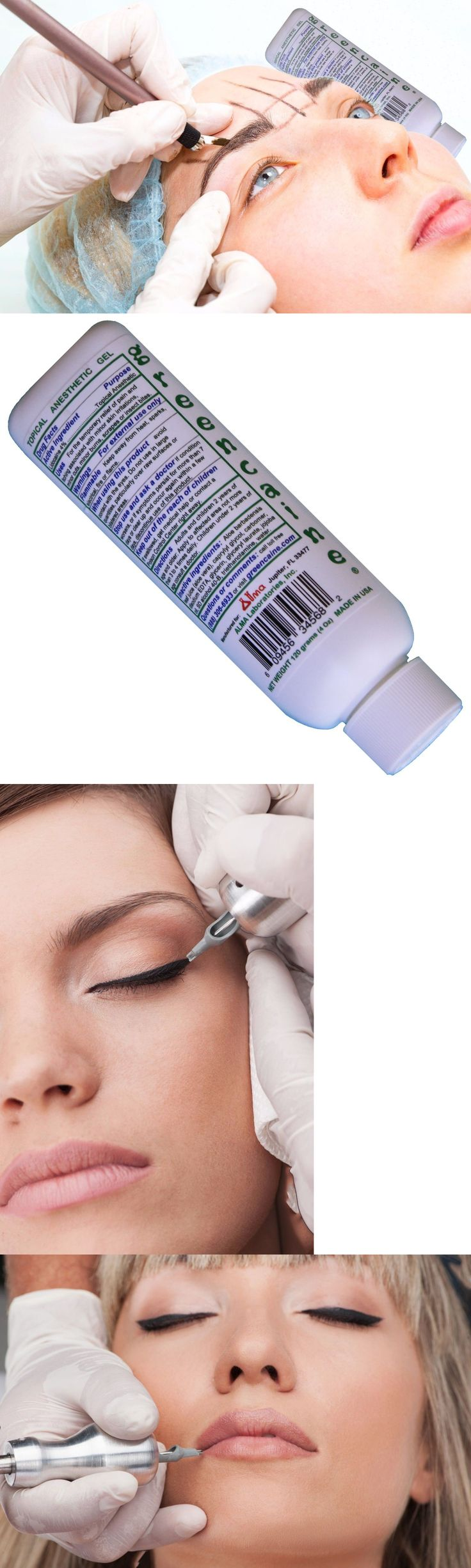Eyebrow Liner and Definition: Microblading Lidocaine Numbing Cream Greencaine Large 4 Oz-From Fl Ships Quickly -> BUY IT NOW ONLY: $34.65 on eBay!