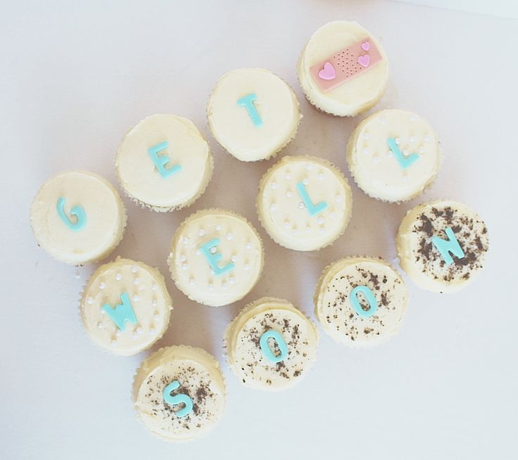 Get well Cupcakes by CarlasCakes best in Ottawa check out others at www.CarlasCakesOnline.com