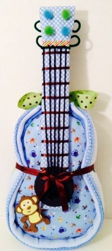 Guitar Diaper Cake baby shower diaper cake boy baby shower amazing creation
