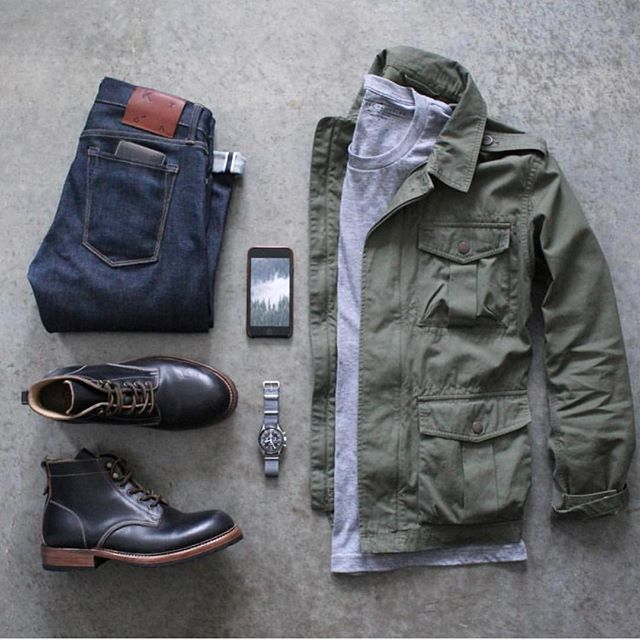 Follow @inisikpe for daily style #SuitGrid to be featured  _______________________ #SuitGrid by: @awalker4715 _______________________  Tap 👉🏼📱For Brands #inisikpe Jacket: @jcrew Shirt: @loyalcollective Denim: @katobrand Shoes: @varvegacrafts Watch: @omega Wallet: @baurdi