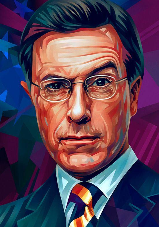 Stephen Colbert - Evgeny Parfenov