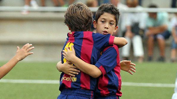 Barça's academy teams http://