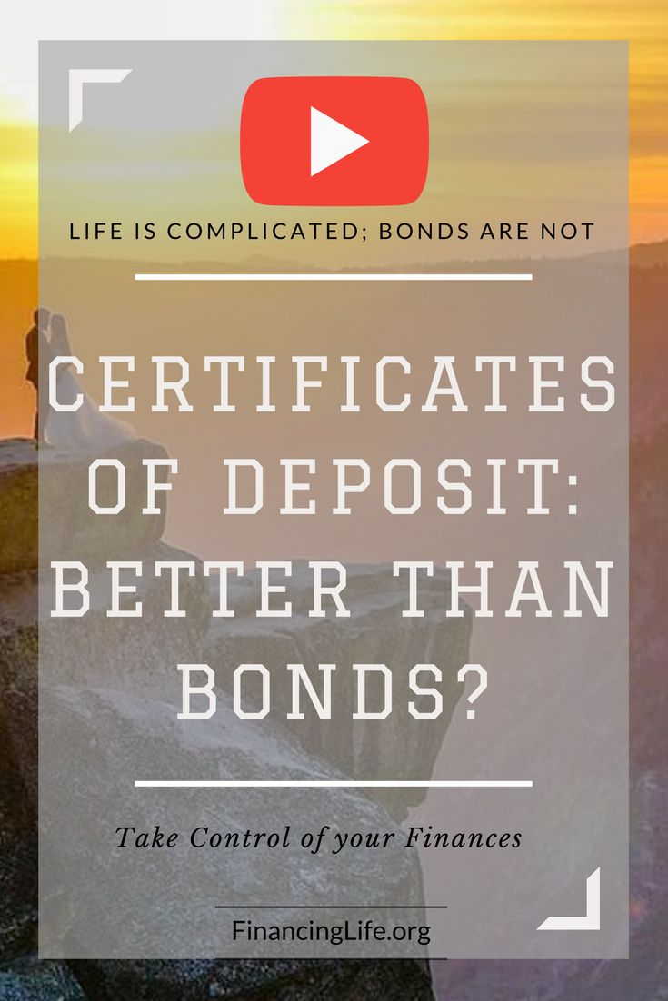 Best 25 certificate of deposit ideas on pinterest highest bond basics 2 certificate of deposit better than bonds video xflitez Choice Image