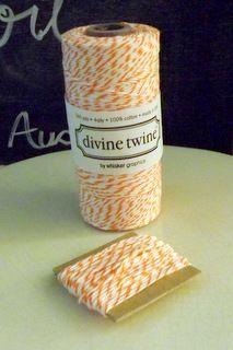 Orange Divine Twine