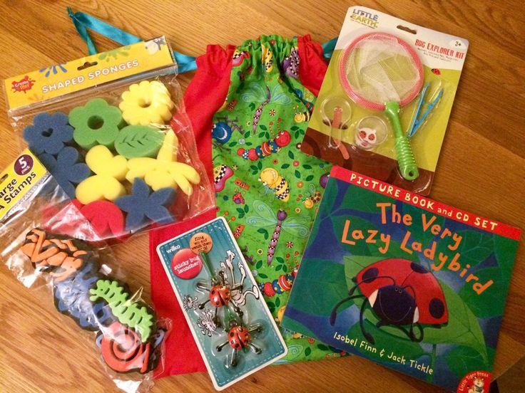 A personal favourite from my Etsy shop https://www.etsy.com/uk/listing/256266580/ladybird-sensory-story-sack-bundle
