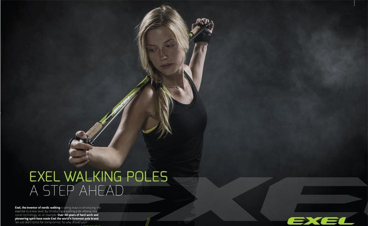 Exel Nordic Walking poles in the UK, the original Nordic walking pole brand. Exel is the pole of choice of many Nordic walking Instructors around the world.