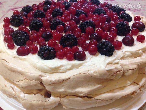 Pavlova torta - Recept