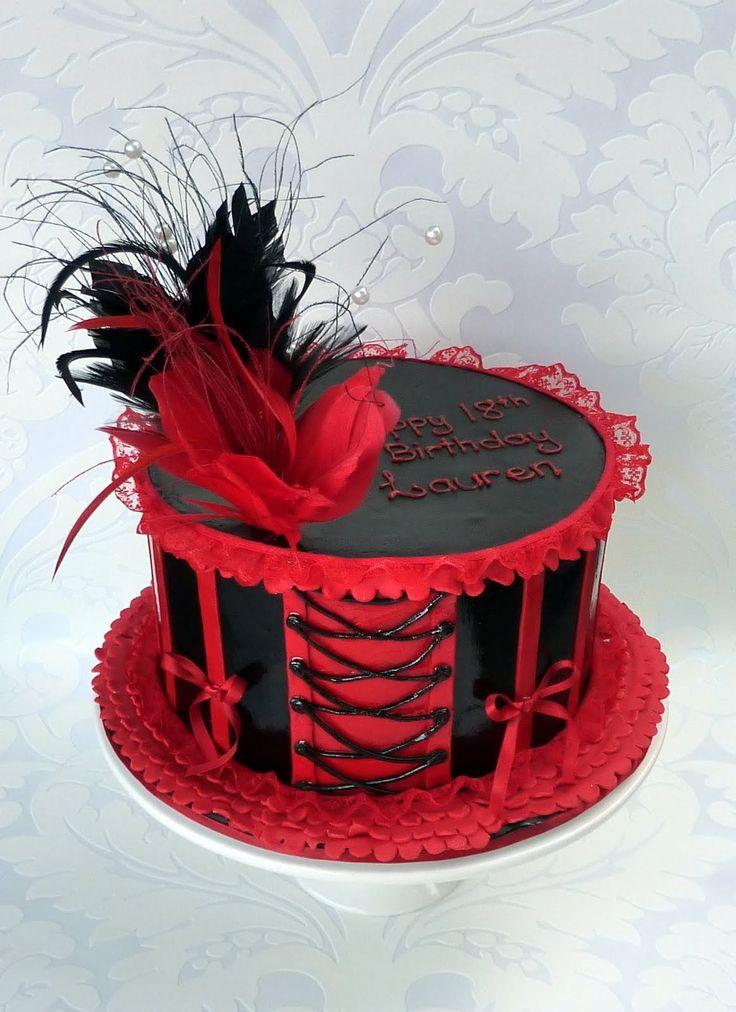 burlesque party ideas | Milk chocolate mud cake layered with milk chocolate ganache.