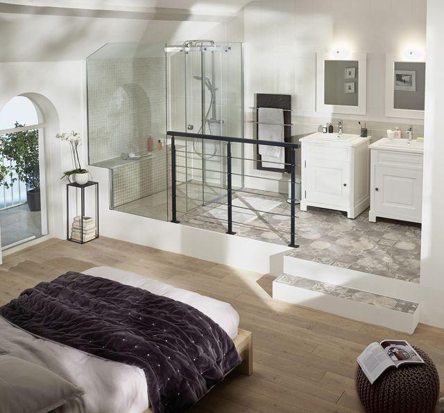 17 meilleures id es propos de vasque poser sur - Plan chambre parentale avec salle de bain ...