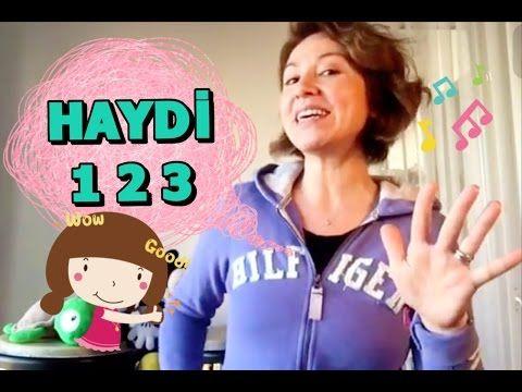 HAYDİ 1 2 3 Çocuk Şarkısı - YouTube