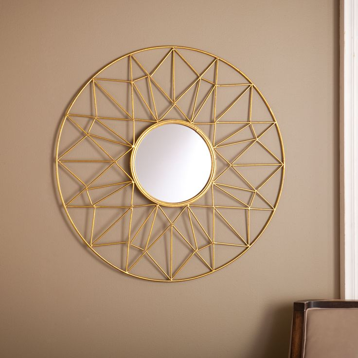 Best 20 round decorative mirror ideas on pinterest Round decorative wall mirrors