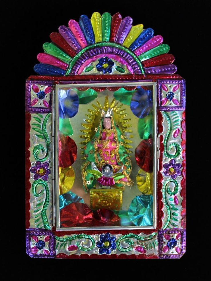 M s de 25 ideas incre bles sobre nuestra se ora de for Our lady of guadalupe arts and crafts