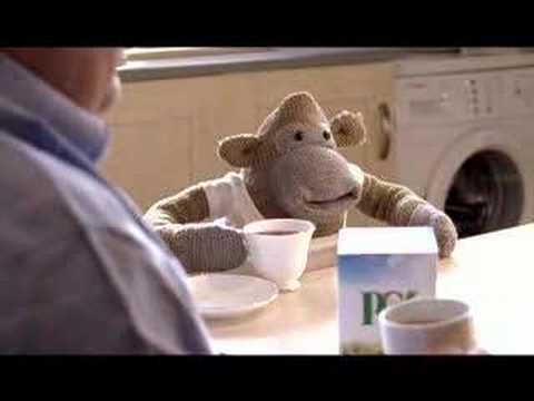 PG tips new monky tv ad 2011 - YouTube