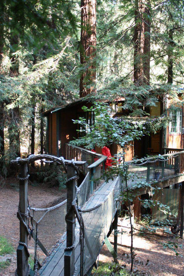 Couples trip / Glamping near Santa Cruz, Corralitos CA | Glamping Monterey Bay Treehouse
