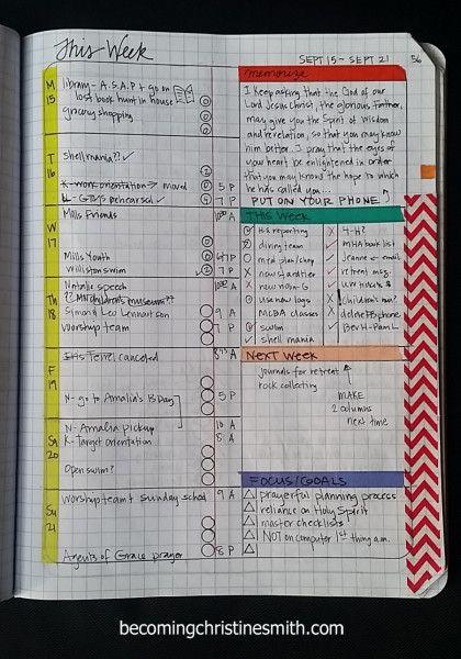 Diy Notebook Calendar : Composition notebook grid planner diy bullet journal