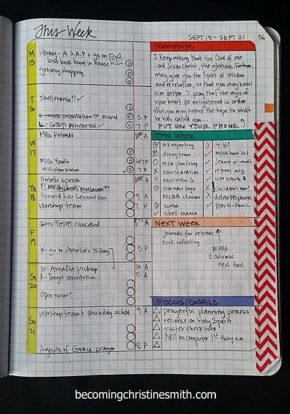 composition notebook grid planner DIY 3