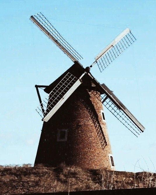 #windmill #Hungary #vintage