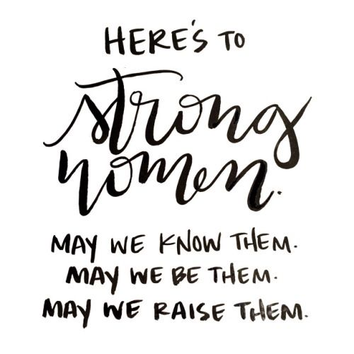 Strong Women Quote @lilyslibrary AMEN! YES!