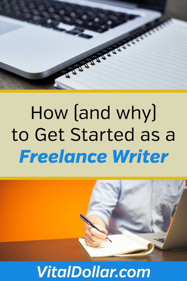 How, and Why. to Get Started as a Freelance Writer. Freelance writing and freelance blogging is a great side hustle. You can start making money almost right away, have flexibility, and have the potential to make a full-time income. #sidehustle #makemoneyonline #freelance #makemoney #makemoneyfromhome