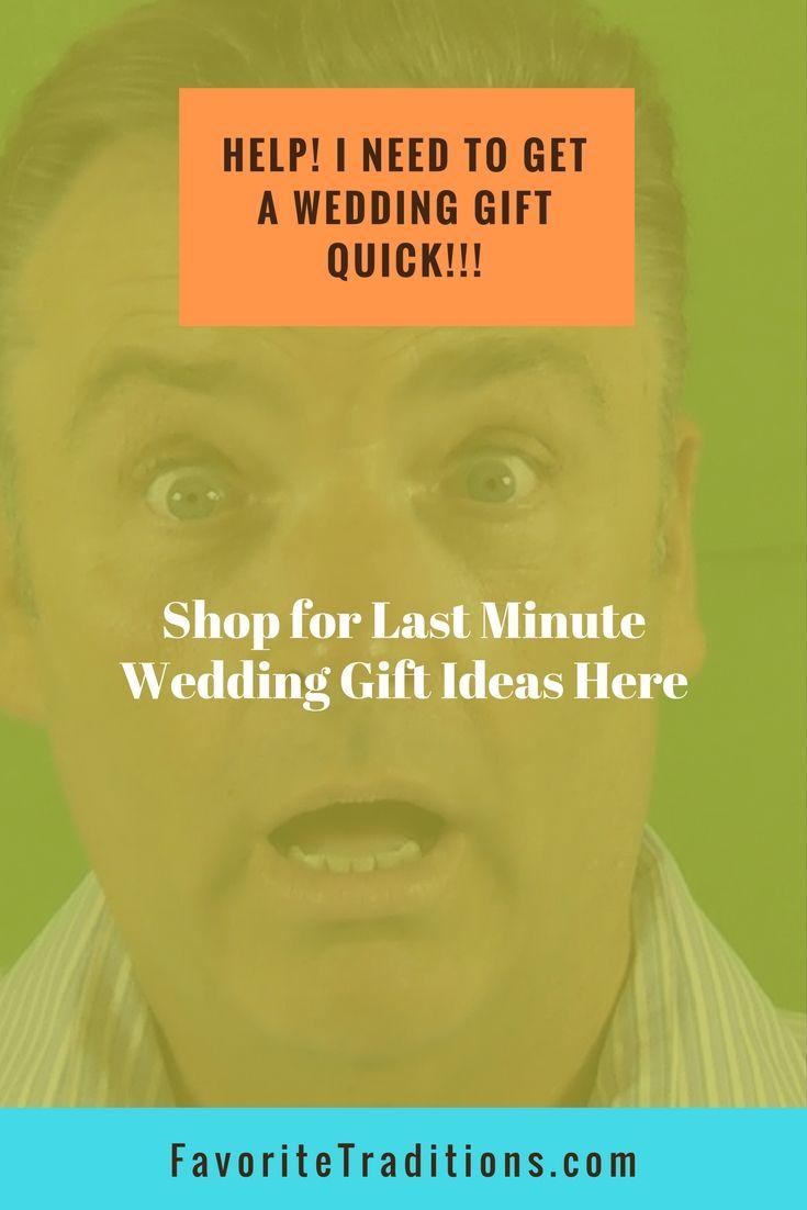 Last Minute Wedding Gift Ideas