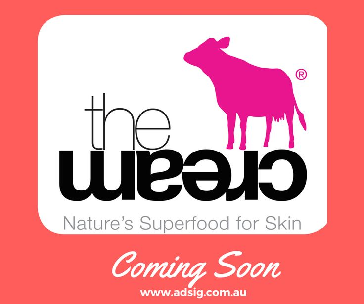 Www.adsig.com.au Proud stockist of TheCream in Australia.  Coming soon  Subscribe to view specials and updates now....