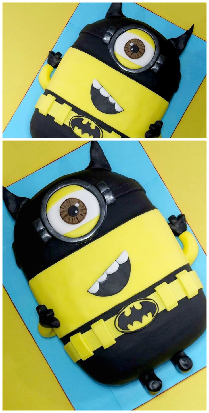 Minion Batman Cake Images