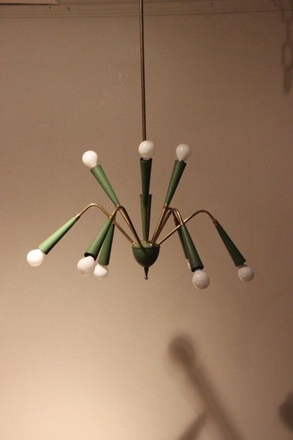 unusual 1960s metal ceiling light brownrigg product22 31oct 10
