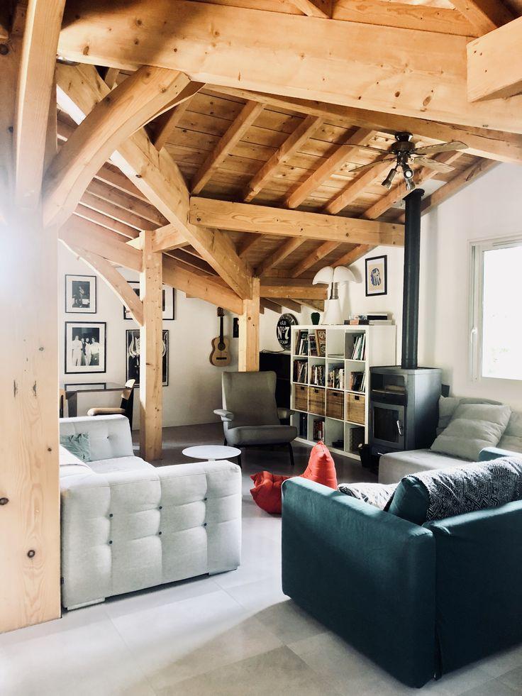 Villa landifornia à Seignosse dans les Landes. Maison en bois contemporaine, beach house moderne ...