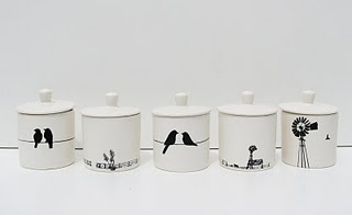 soy candles in useful ceramic