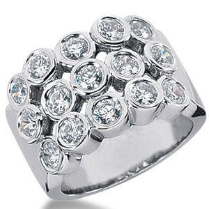 1.50 Karat Diamantring 585er Weißgold  #diamantring #diamant_ring #gold #juwelier #abt #diamant #weissgold #schmuck #dortmund