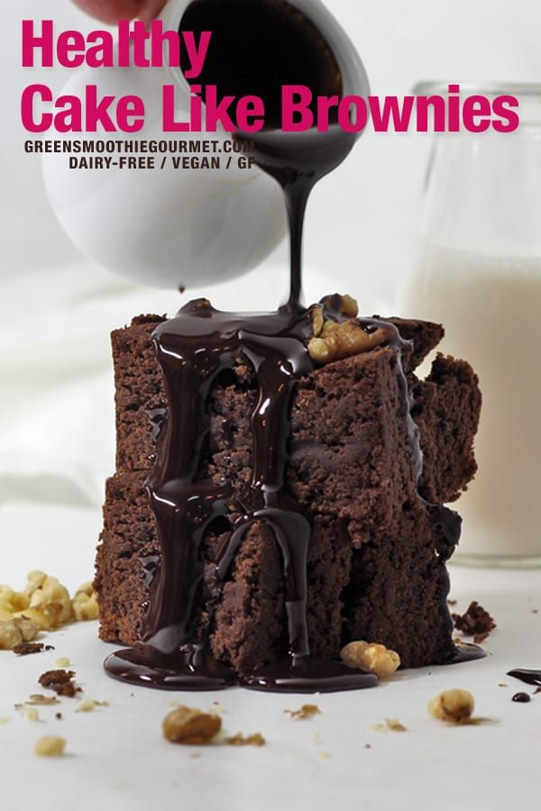 Healthy Cake Like Brownies A Healthy Cake Like Brownies Recipe Using Few Ingredients That Are Dairy In 2020 Healthy Cake Cake Like Brownies Low Carb Ice Cream Recipe