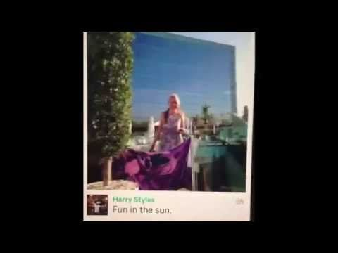 Harry Styles unseen vine with Lux