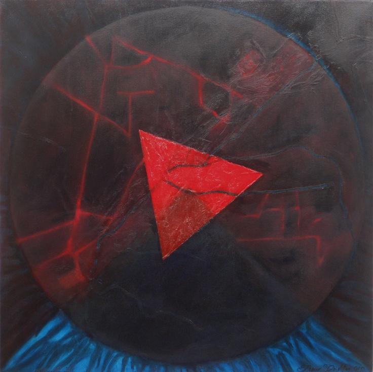 Maslow's Compass - by Kylie Fleur #majubagallery #NZartist #KylieFleur #FleurDeighton