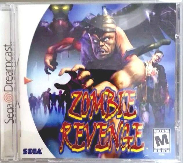 #sega dreamcast - zombie revenge video game from $25.0