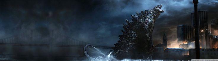 Godzilla HD desktop wallpaper Fullscreen