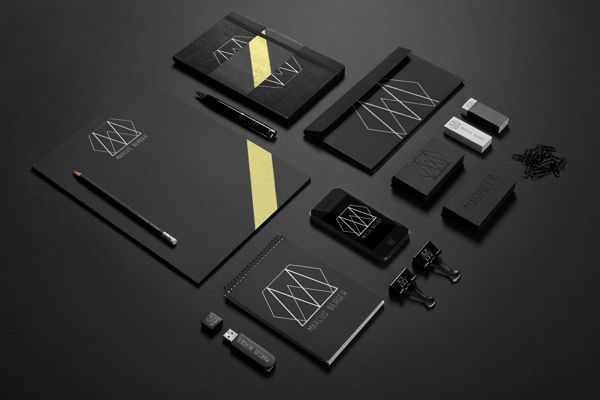 Marcus Berger Identity by Bianca Luyt, via Behance