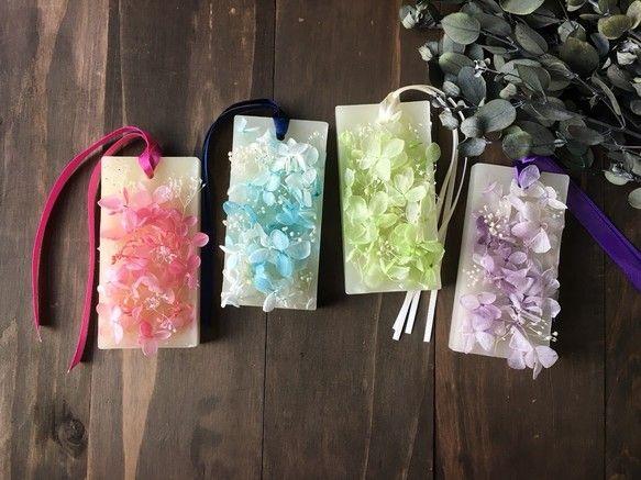 ボタニカルアロマサシェ【紫陽花】|キャンドル|lala salama|ハンドメイド通販・販売のCreema