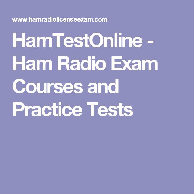 HamTestOnline - Ham Radio Exam Courses and Practice Tests